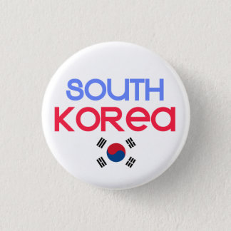 South Korea and a (south korean flag) Button