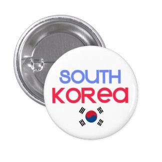 South Korea and a (south korean flag) Button