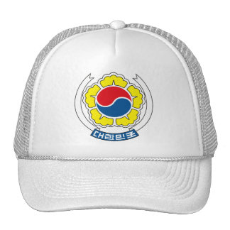 South Korea Coat of Arms Hat