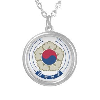 South Korea Coat of Arms Pendants