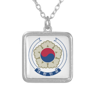 South Korea Coat of Arms Necklaces