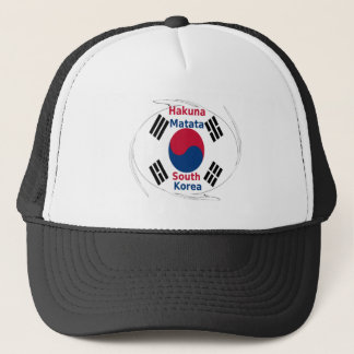 South Korea Colors Trucker Hat