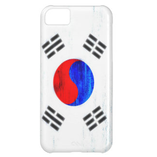 South Korea distressed flag Cover For iPhone 5C