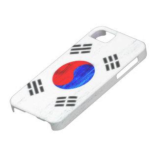 South Korea distressed flag iPhone SE/5/5s Case