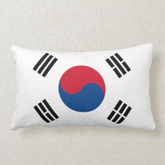 South Korea Flag American MoJo Lumbar Pillow