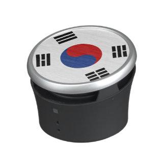 South Korea Flag Bluetooth Speaker