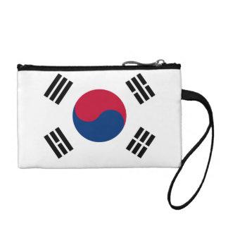 South Korea Flag Change Purse