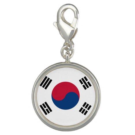 South Korea Flag Charm