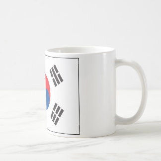 South Korea Flag Coffee Mug