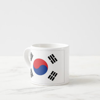 South Korea Flag Espresso Cup
