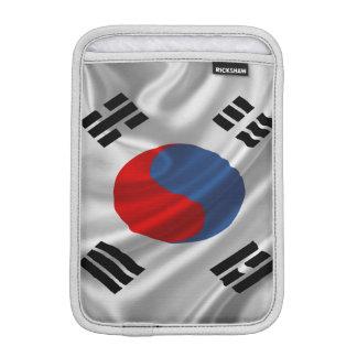 South Korea Flag Fabric iPad Mini Sleeve
