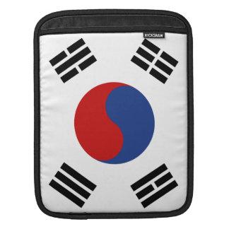 South Korea Flag iPad Sleeves