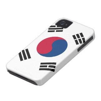 South Korea Flag iPhone 4 Case
