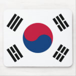 South Korea Flag Mouse Pad