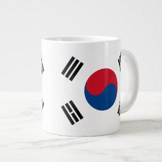 South Korea Flag Mug Jumbo Mug