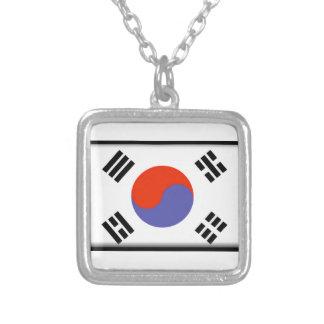 South Korea Flag Necklaces