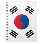 South Korea Flag Notebook
