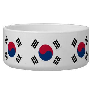 South Korea Flag Pet Bowl