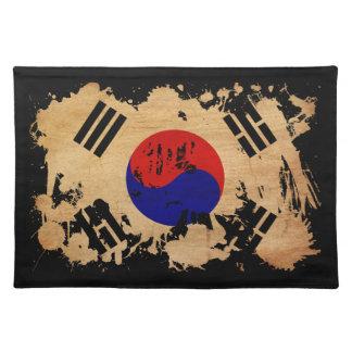 South Korea Flag Placemat