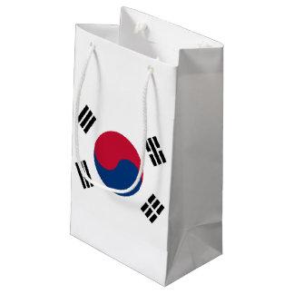South Korea Flag Small Gift Bag