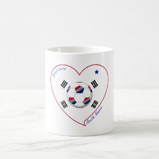 SOUTH KOREA flag SOCCER national team 2014 Coffee Mugs