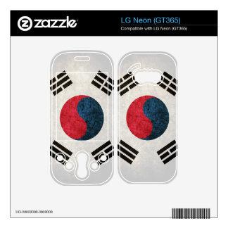 South Korea Flag South Korean Skin For LG Neon