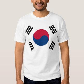 South Korea Flag Tee Shirts