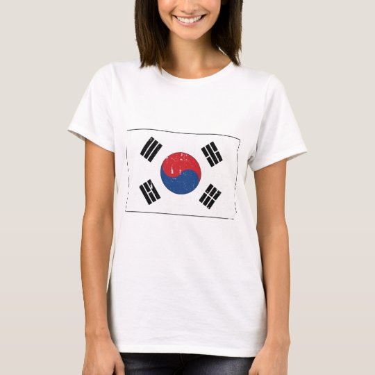 South Korea Flag World T-Shirt