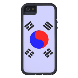 SOUTH KOREA FLAG-YIN YANG CASE FOR iPhone SE/5/5s