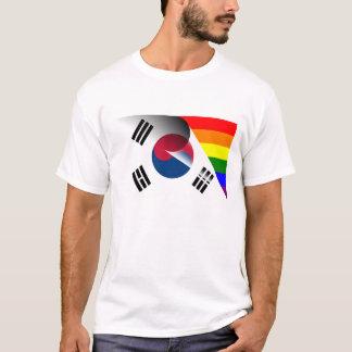 South Korea Gay Pride Rainbow Flag T-Shirt