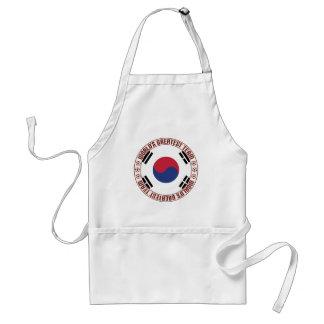South Korea Greatest Team Adult Apron