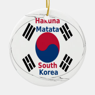 South Korea Hakuna Matata Ceramic Ornament