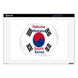 South Korea Hakuna Matata Laptop Decals