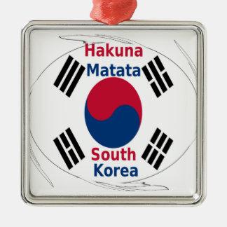 South Korea Hakuna Matata Metal Ornament