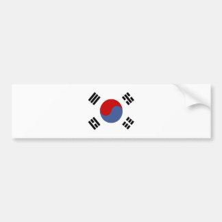 South Korea High quality Flag Bumper Sticker