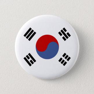 South Korea High quality Flag Pinback Button