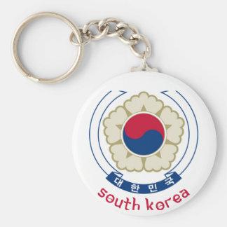 SOUTH KOREA - korean/asia/asian/emblem/flag Keychain