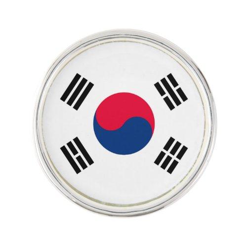 South Korea Lapel Pin
