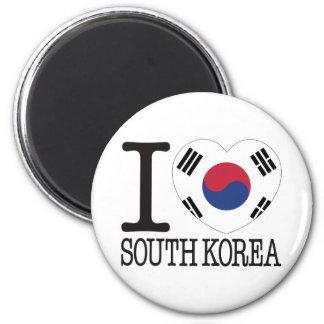 South Korea Love v2 Magnet