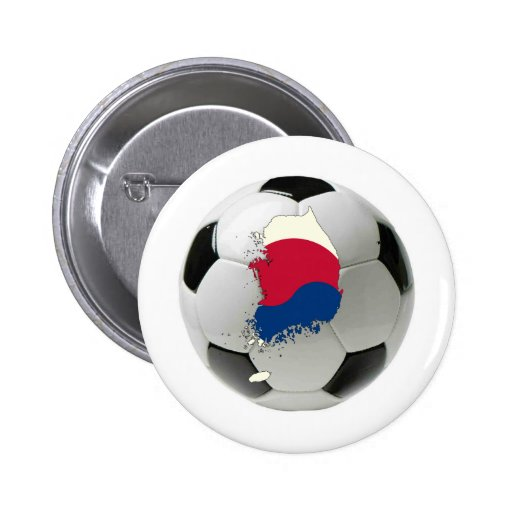 South Korea national team 2 Inch Round Button
