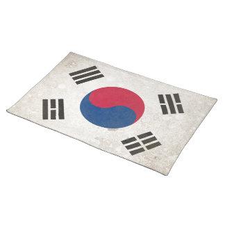 South Korea Placemat