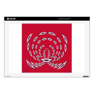 South Korea Polka Dot flag Laptop Decal