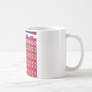 South Korea PolkaDot flag Coffee Mug