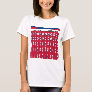 South Korea PolkaDot flag T-Shirt