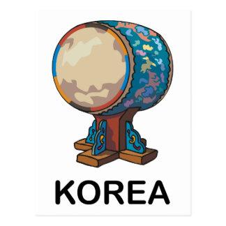 South Korea Postcard