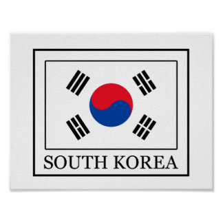 South Korea Poster