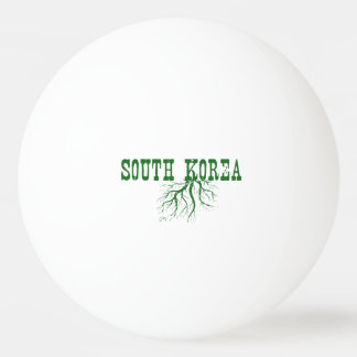 South Korea Roots Ping-Pong Ball