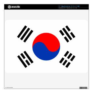South Korea MacBook Decal