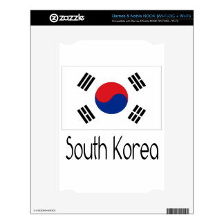 South Korea NOOK Skins