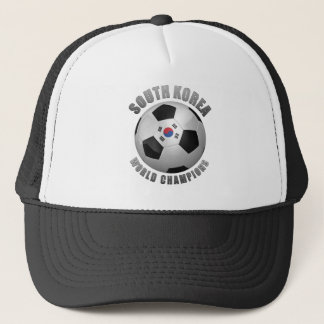 SOUTH KOREA SOCCER CHAMPIONS TRUCKER HAT